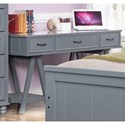 New Classic Taylor Youth Bedroom Desk - Item Number: 05-626-091-GRY