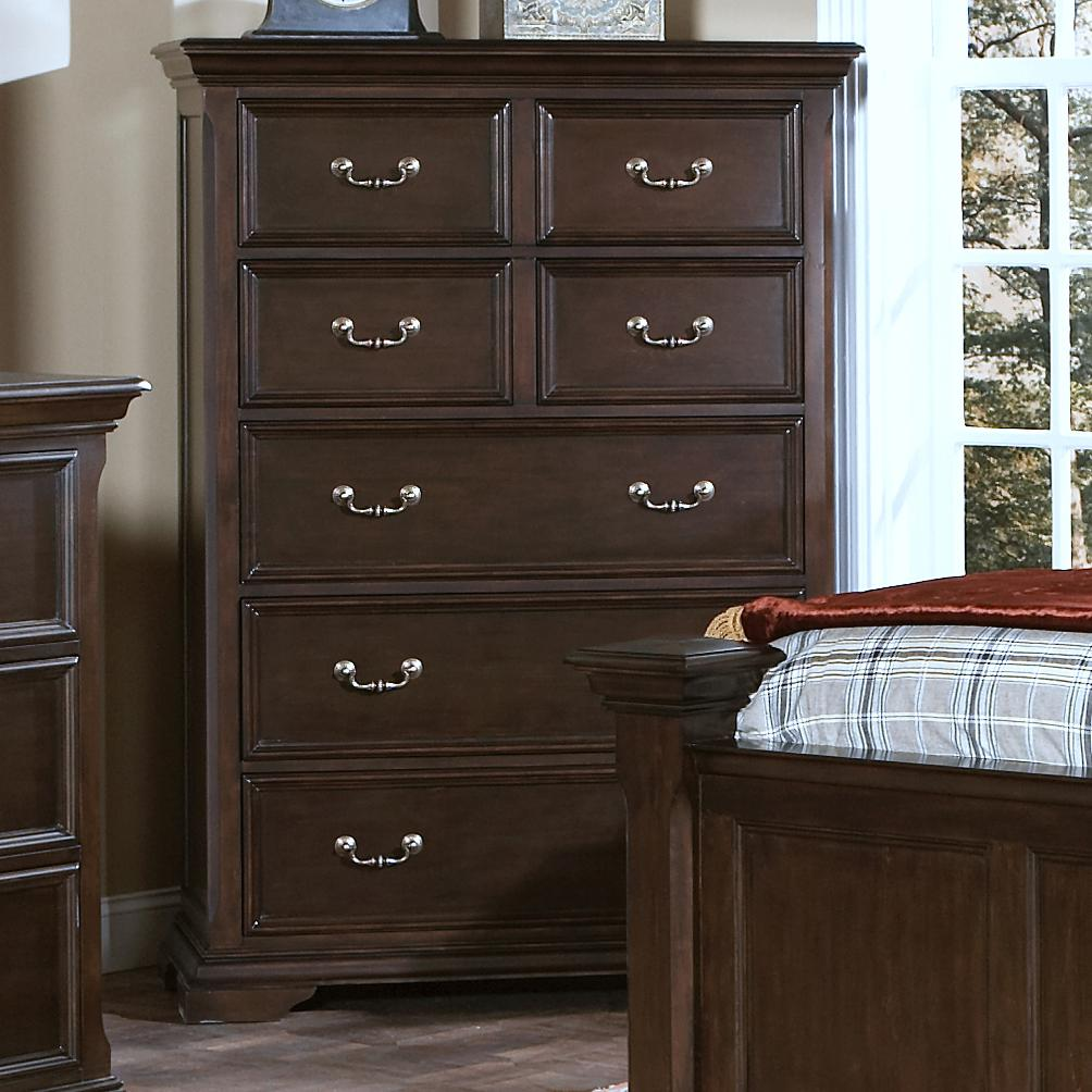 New Classic Timber City Chest of Drawers - Item Number: 00-007-070