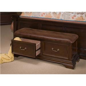 New Classic Timber City Storage Bench