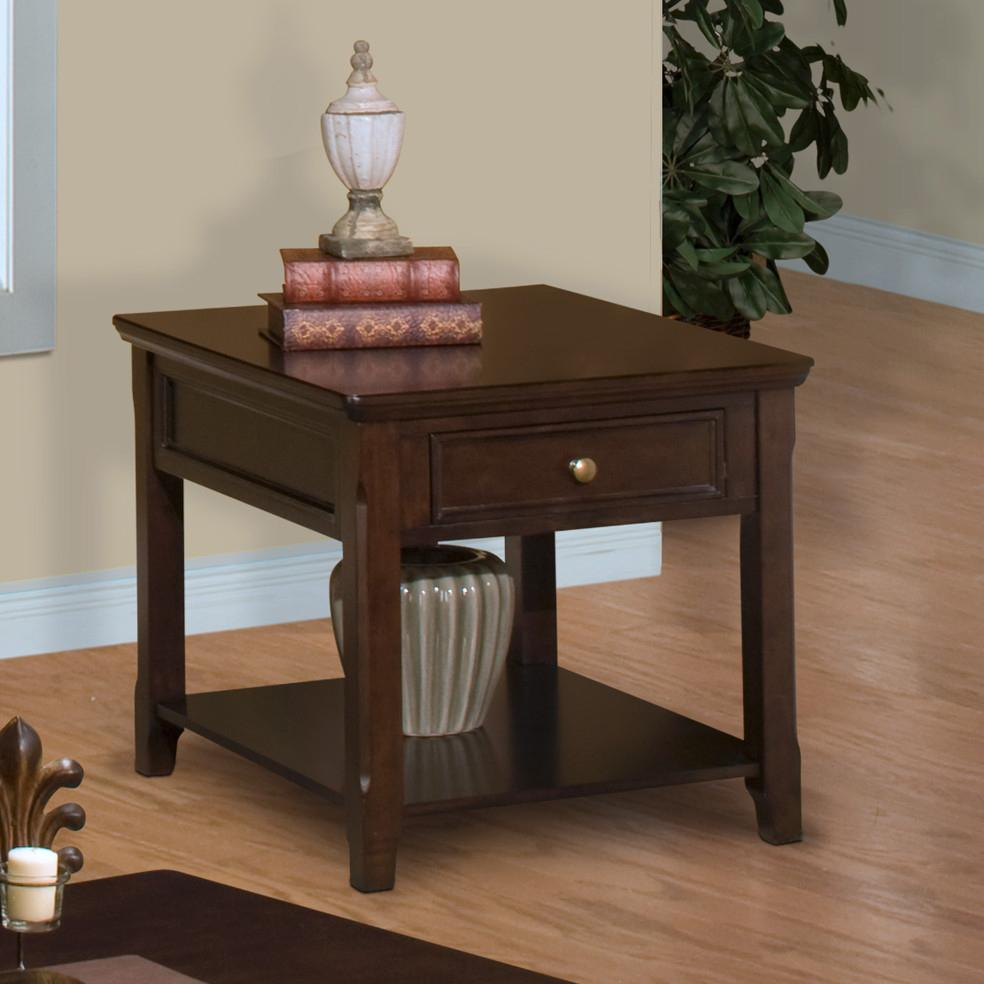 New Classic Timber City  End Table - Item Number: 30-007-20