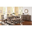 New Classic Tuscany Park Formal Dining Room Group - Item Number: D7404 Dining Room Group 1