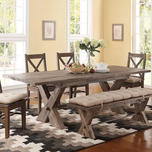 New Classic Tuscany Park Trestle Table