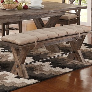 New Classic Tuscany Park Dining Bench