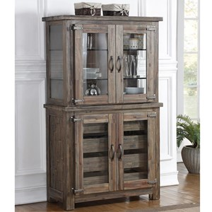 New Classic Tuscany Park Curio Cabinet