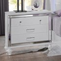 New Classic Valentino Nightstand - Item Number: BA9698W-040