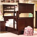 New Classic Versaille Twin over Twin Bunk Bed - Item Number: 05-010-518+538+1040-097