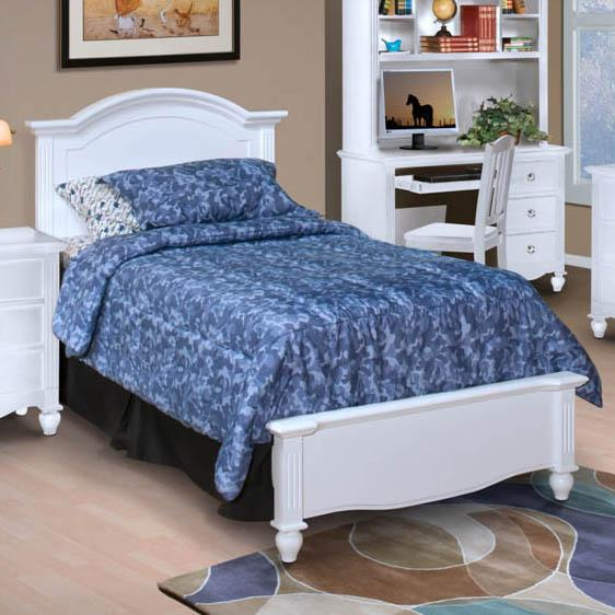 New Classic Victoria Twin Bed - Item Number: 05-621-515+05-621-530