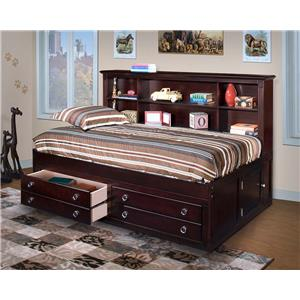 New Classic Victoria Full Lounge Storage Bed