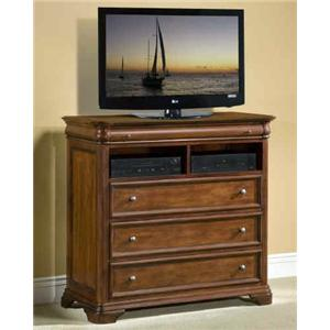 New Classic Whitley Court 3-Drawer Media Chest