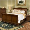 New Classic Whitley Court Queen Sleigh Bed - Item Number: 00-002-310+320+330
