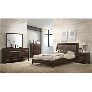 New Classic Windsong King 5 Piece Bedroom Group
