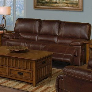 New Classic Wyoming Dual Recliner Sofa