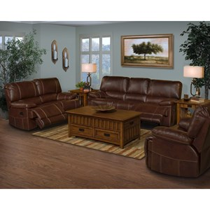 New Classic Wyoming Power Reclining Living Room Group