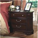 New Classic Emilie 3-Drawer Nightstand - Item Number: 1841-040