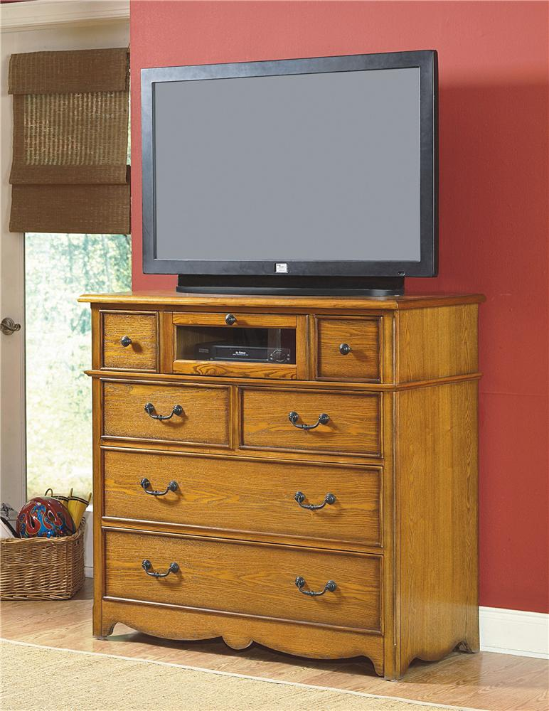 New Classic Hailey Media Chest - Item Number: 4431-078
