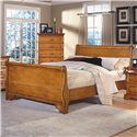 New Classic Honey Creek King Sleigh Bed - Item Number: 1133-111A+121A+131A