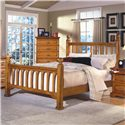 New Classic Honey Creek King Poster Bed - Item Number: 1133-112A+122A+132A