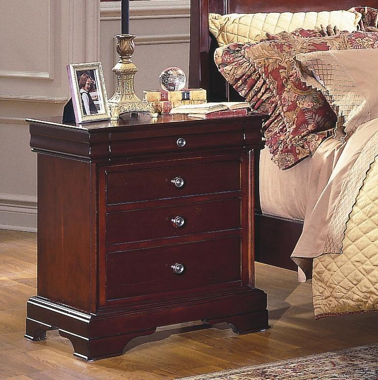 New Classic Versaille Night Stand - Item Number: 1040-040