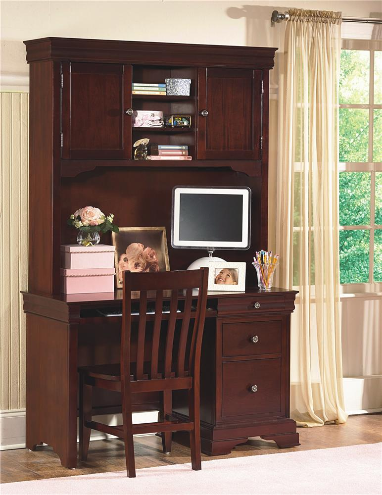 New Classic Versaille Desk & Hutch - Item Number: 1040-091+092