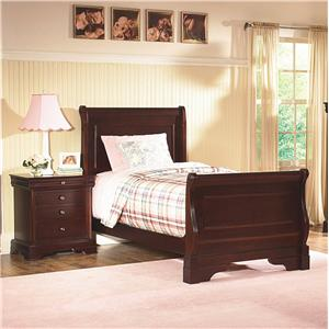 New Classic Versaille Full Sleigh Bed
