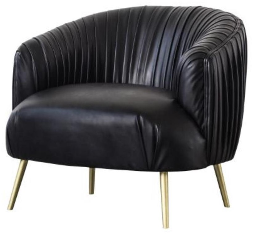 Anna Pleated Accent Chair