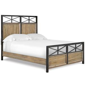 Next Generation by Magnussen Bailey Twin Metal & Wood Panel Bed