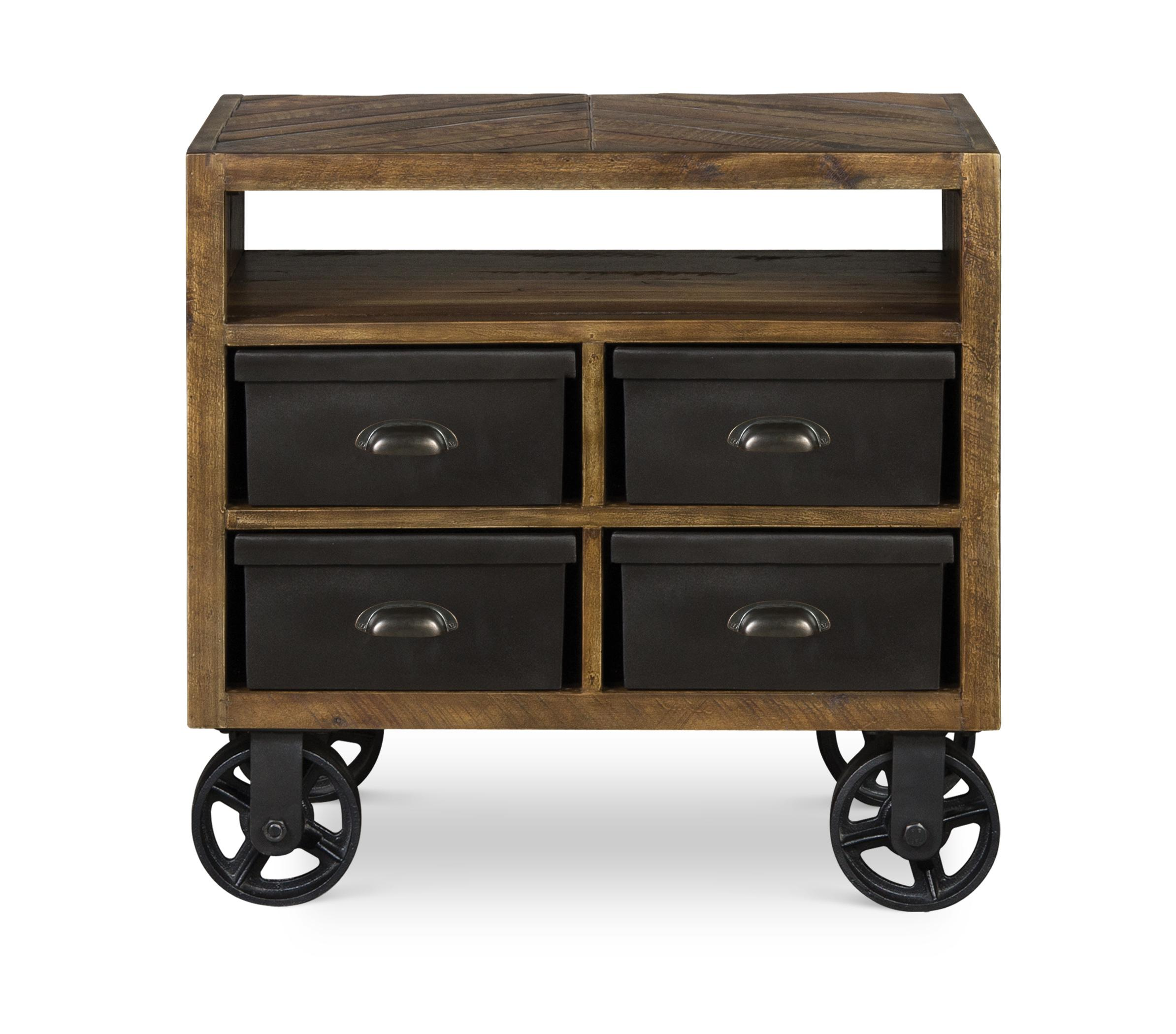 Next Generation by Magnussen Braxton Drawer Nightstand w/ casters - Item Number: Y2377-01