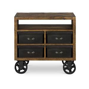 Next Generation by Magnussen Braxton Drawer Nightstand w/ casters