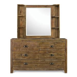 Next Generation by Magnussen Braxton Dresser & Mirror