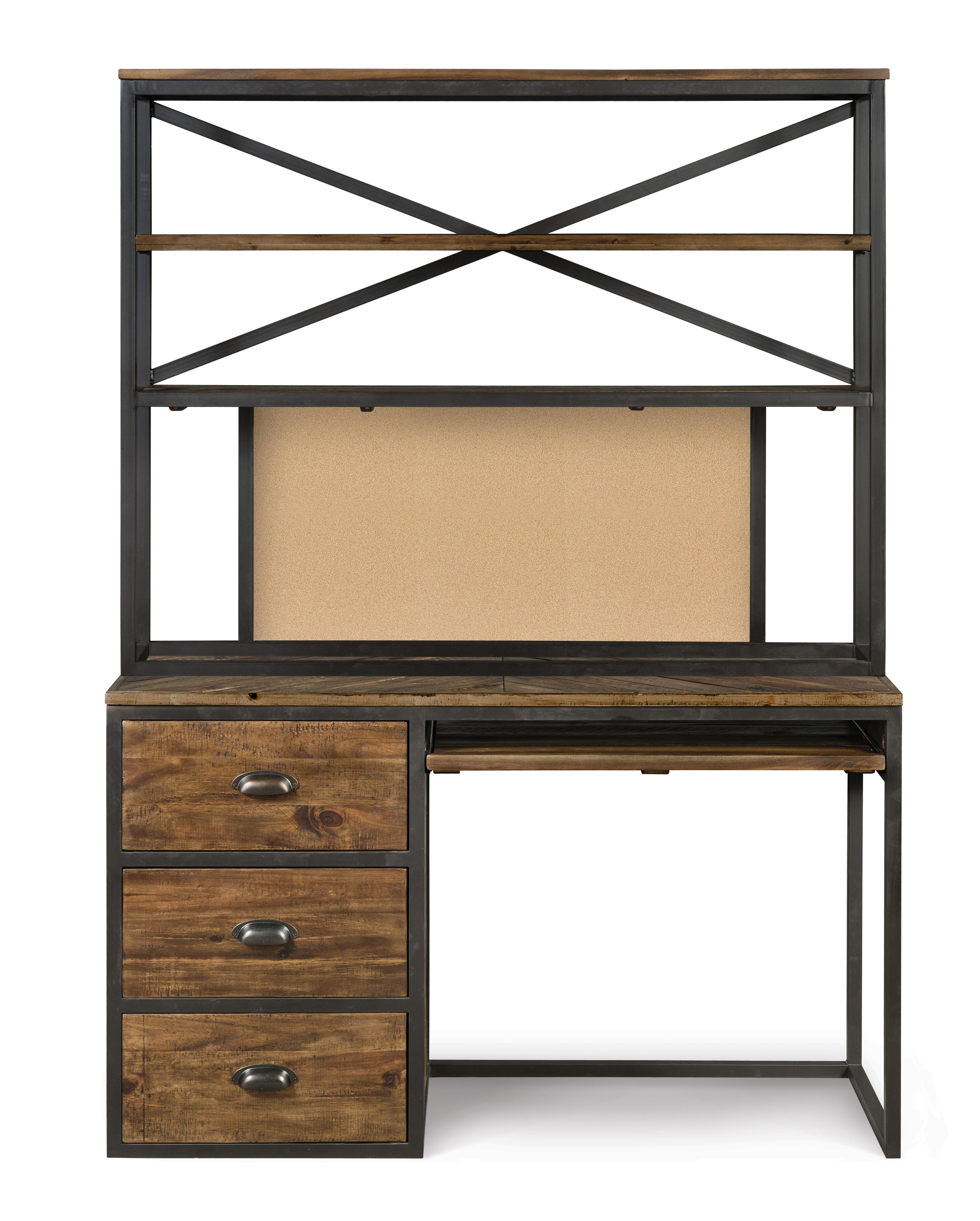 Next Generation by Magnussen Braxton Desk & Hutch - Item Number: Y2377-30+Y2377-31