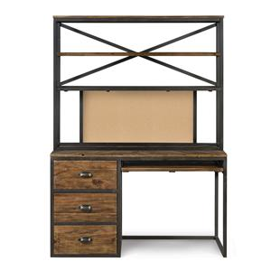 Next Generation by Magnussen Braxton Desk & Hutch