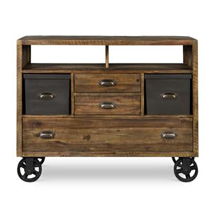 Next Generation by Magnussen Braxton Media Chest w/ casters