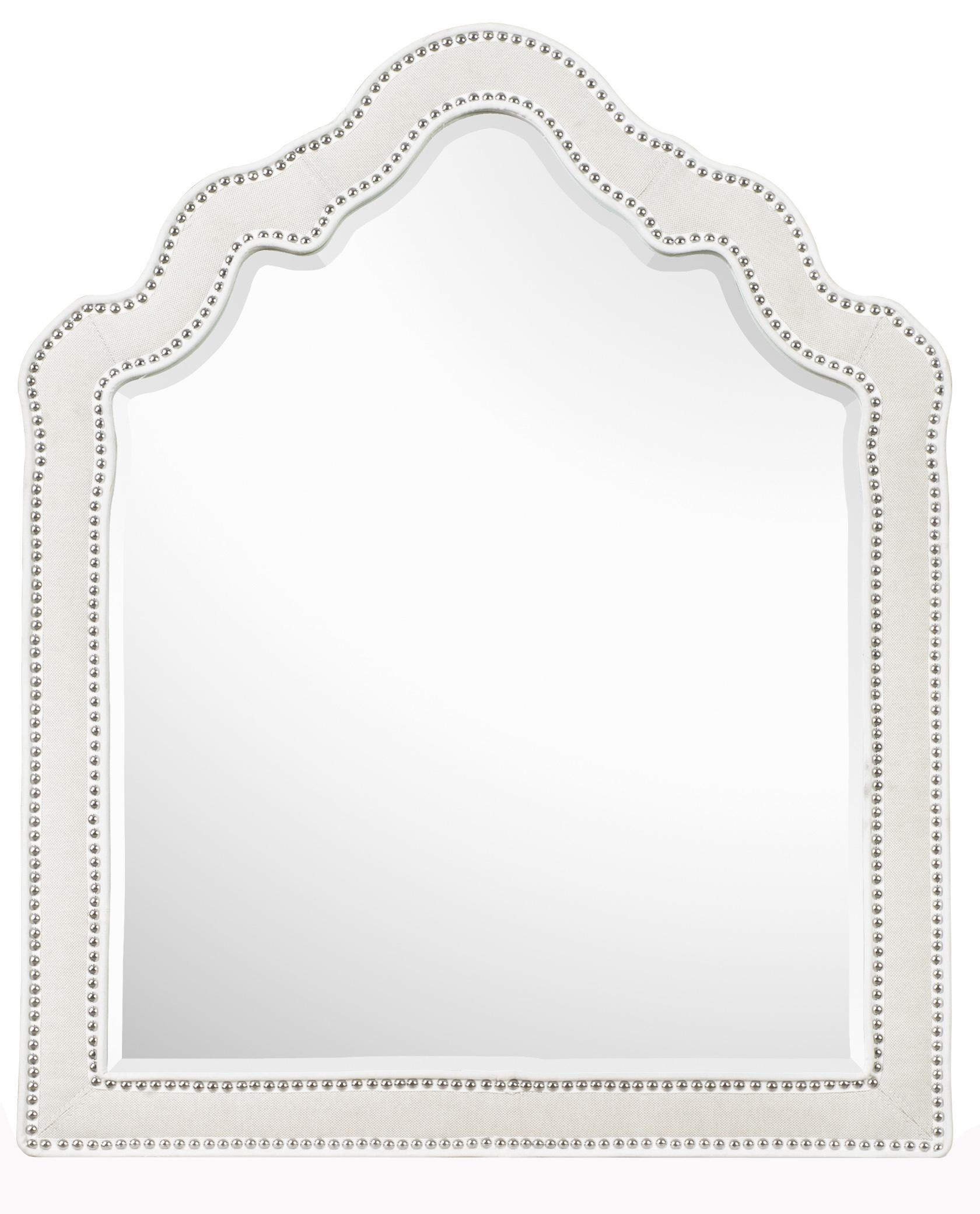Next Generation by Magnussen Gabrielle Youth Shaped Mirror - Item Number: Y2194-45
