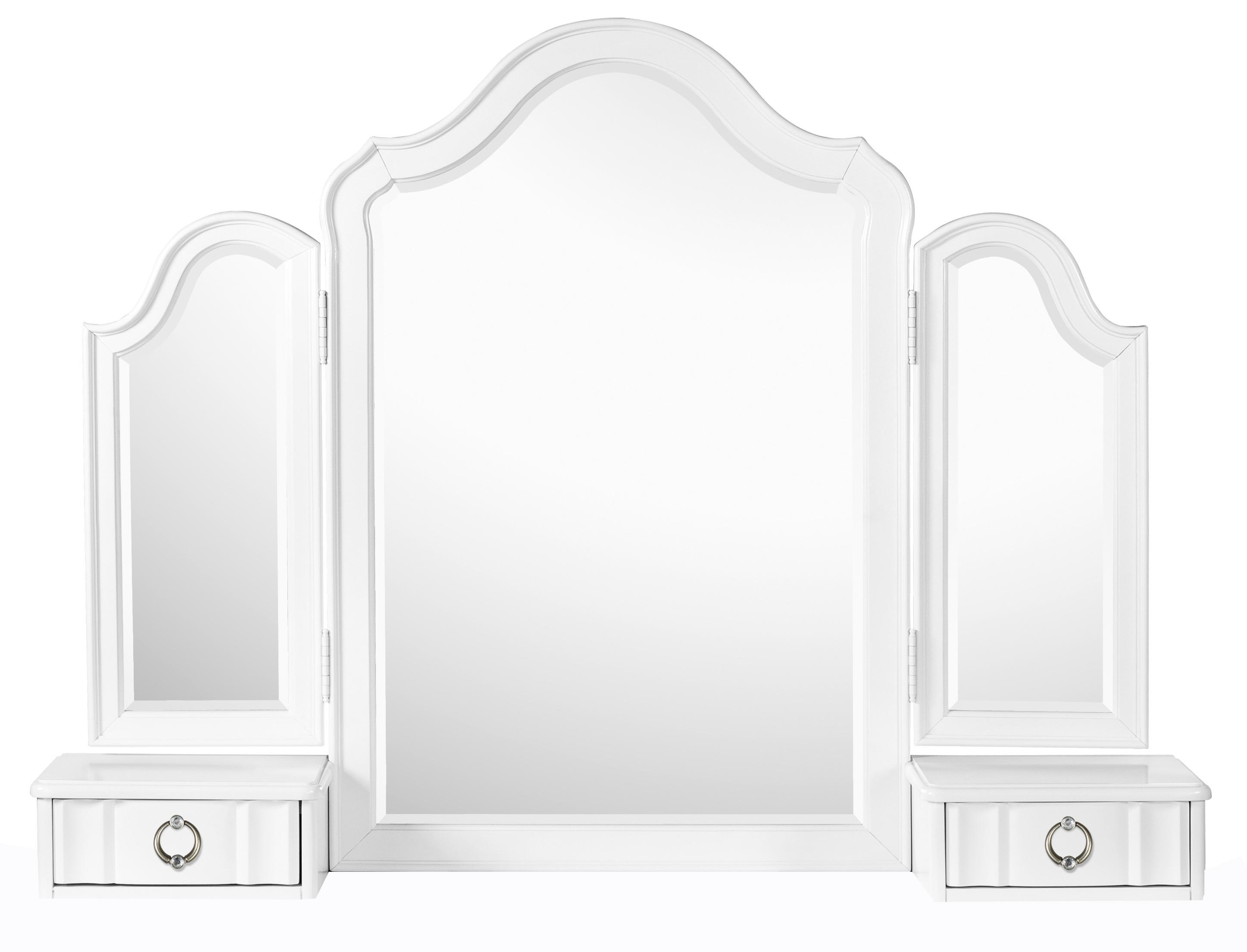 Next Generation by Magnussen Gabrielle Youth Tri-Fold Mirror - Item Number: Y2194-47