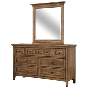 Belfort Select Youth Bay Creek Dresser and Mirror Set