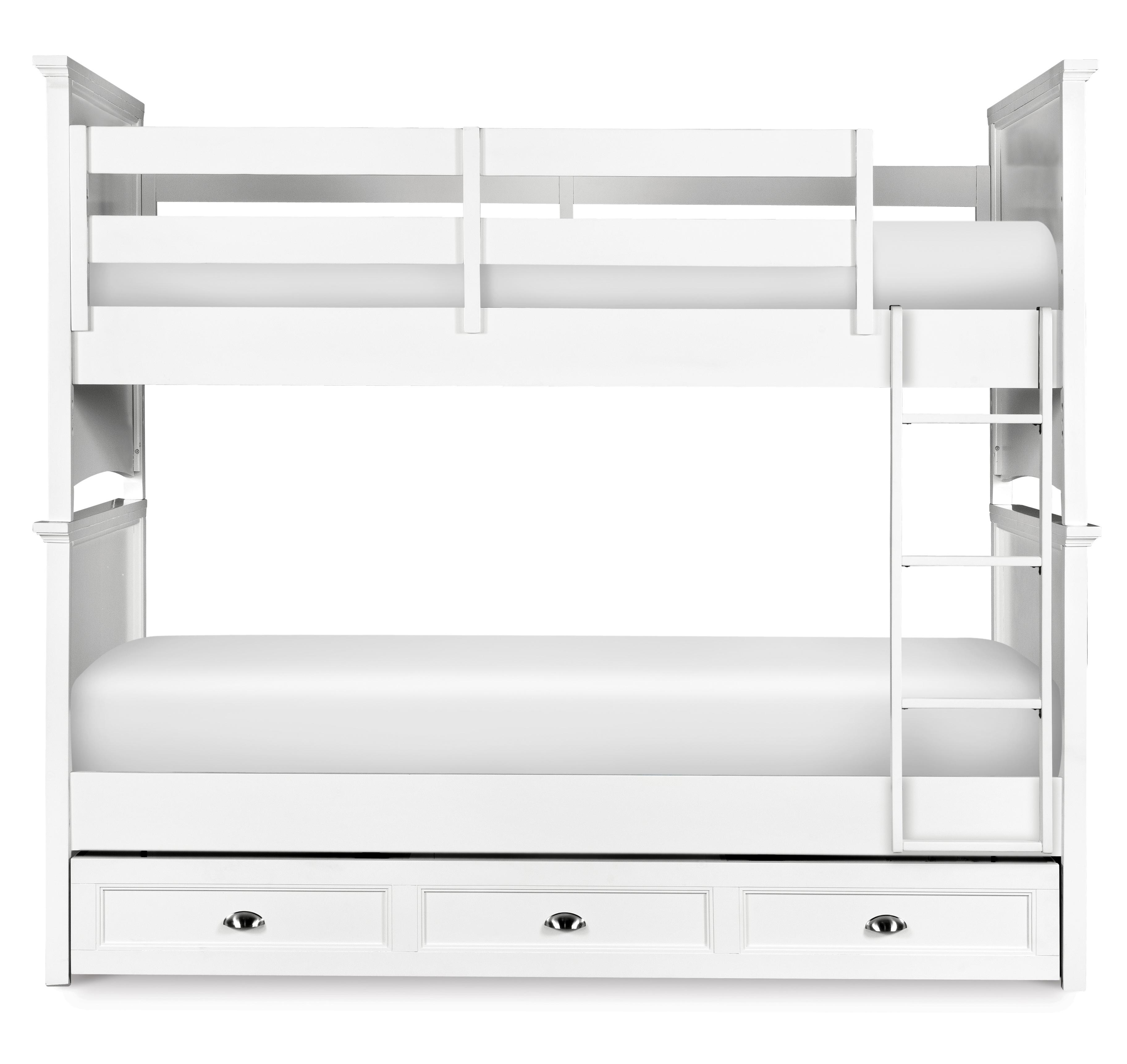 Next Generation by Magnussen Kenley Twin-over-Twin Bunk Bed with Trundle - Item Number: Y1875-70+90