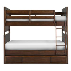 Next Generation by Magnussen Twilight  Twin-over-Twin Bunk with Trundle