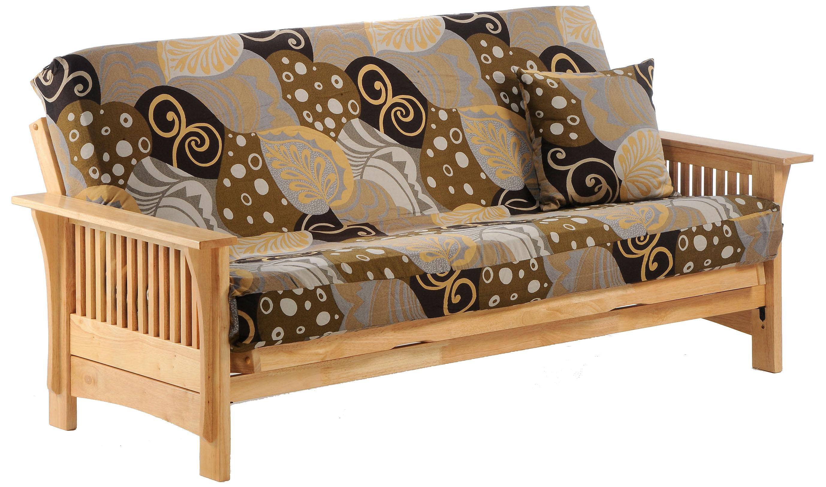 Autumn Natural Full Size Futon by Night & Day Furniture at Furniture and ApplianceMart