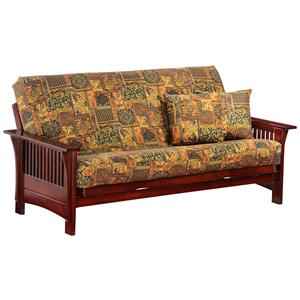 Night & Day Furniture Autumn Rosewood Chair Size Futon