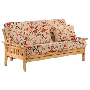 Night Day Furniture Kingston Natural Chair Size Futon