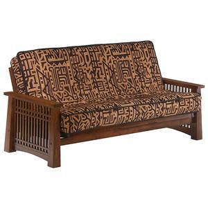 Black Walnut Chair Size Futon