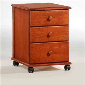 Night & Day Furniture Spice Mobile Drawer Unit