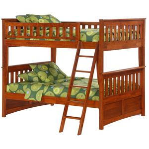 Night & Day Furniture Spice Ginger Full Bunk Bed