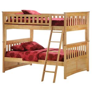 Night & Day Furniture Spice Full Bunk Bed