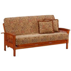 Night & Day Furniture Winchester Teak Chair Size Futon