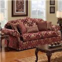 Noahs Manufacturing 1214 Traditional Stationary Sofa