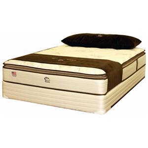Noahs Manufacturing Sereni-Sleep Deluxe 2100 Queen Pillow Top Mattress