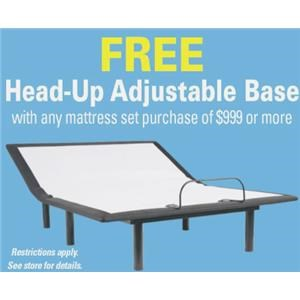 Head-Up Adjustable Base