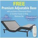 A1 Free Foundation Promotion Premium Adjustable Base - Item Number: Promo-base2