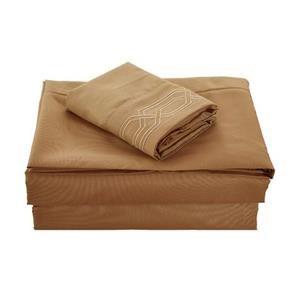 None Kanma Bed Sheet Set  - BSEM17-MOCH-QN